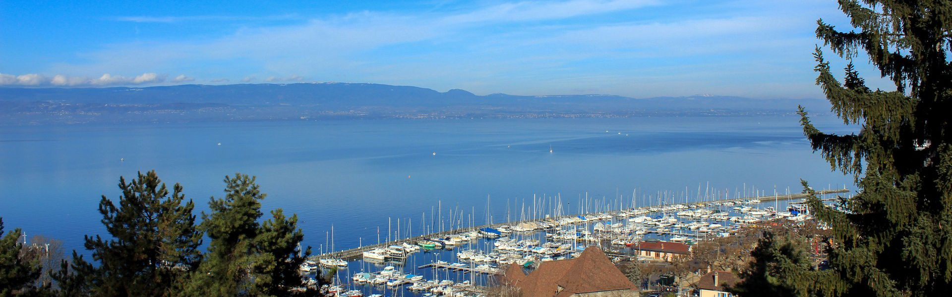 The city of Thonon-les-Bains