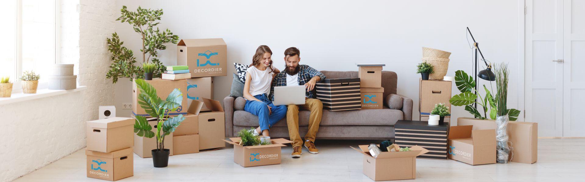 Demande d'estimation gratuite auprès de - DECORDIER immobilier