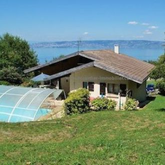 maxilly, Maxilly-sur-léman, house, house Maxilly, swimming pool, lake Geneva