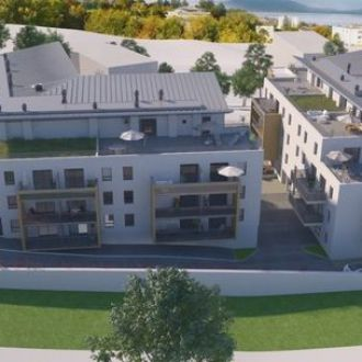 New 3-room apartment SOLD by DE CORDIER IMMOBILIER Evian