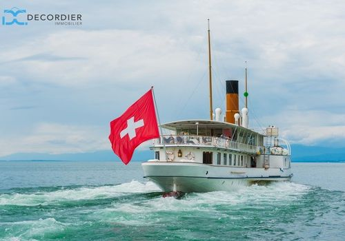 Working in Switzerland and living in France by DE CORDIER IMMOBILIER Evian